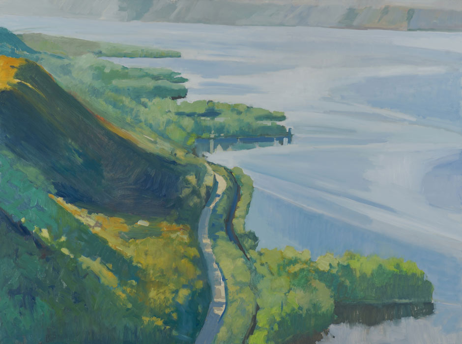 "Exhibit: ""River Perspectives"" by Tom Maakestad and Don Schmidlapp at the Minnesota Marine Art Museum"