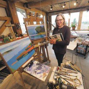Villager Newspaper features Barbara McIlrath
