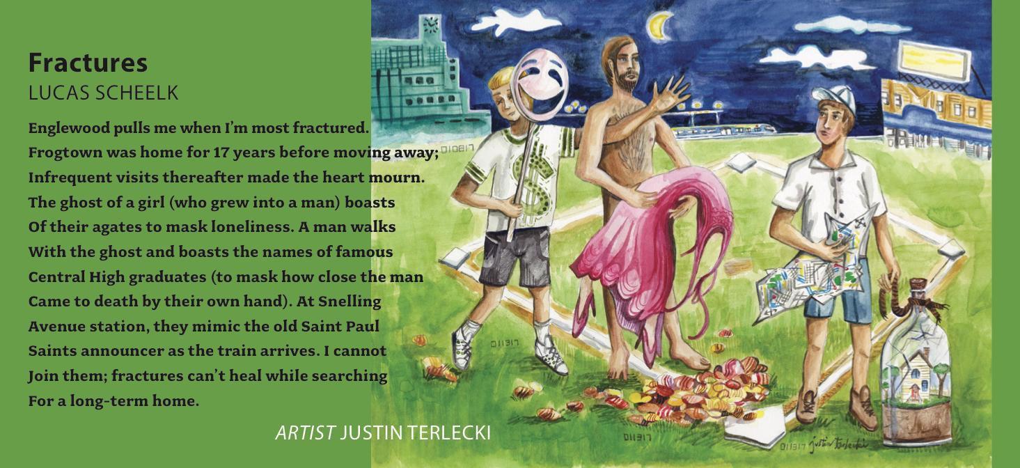 Featured IMPRESSIONS artist Justin Terlecki