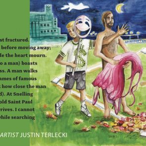 Featured IMPRESSIONS artist Justin Terlecki